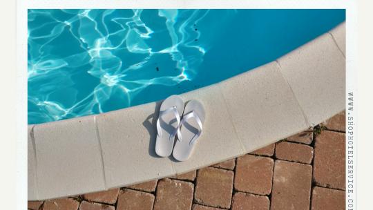Ciabatte, pantofole ed infradito per Hotel-Albergo